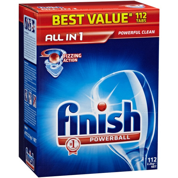 Finish All In 1 Tablets 112S (By Carton - See Desc.)