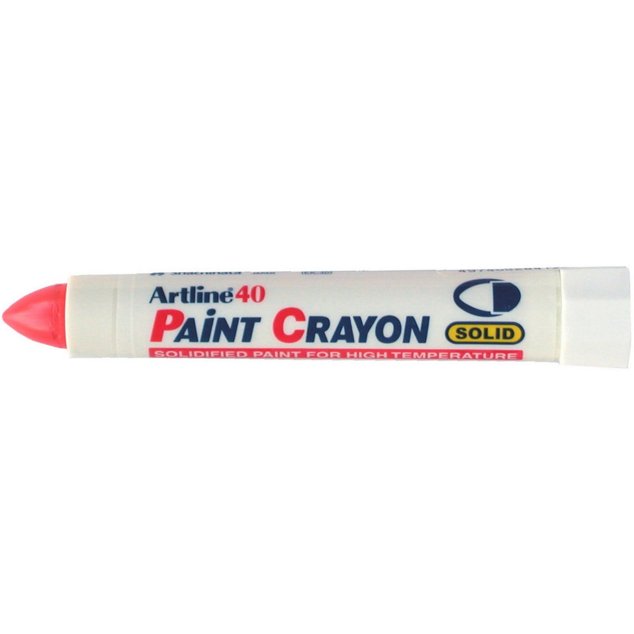 Artline 40 Paint Crayon Red (Bx12)