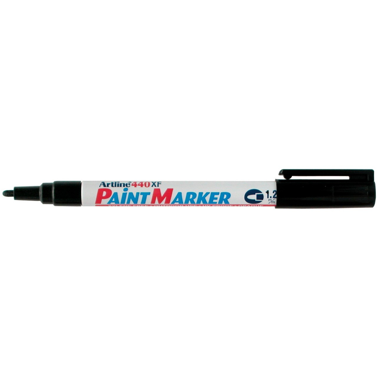 Artline 440 Paint Marker Black 1.2Mm Bullet Nib