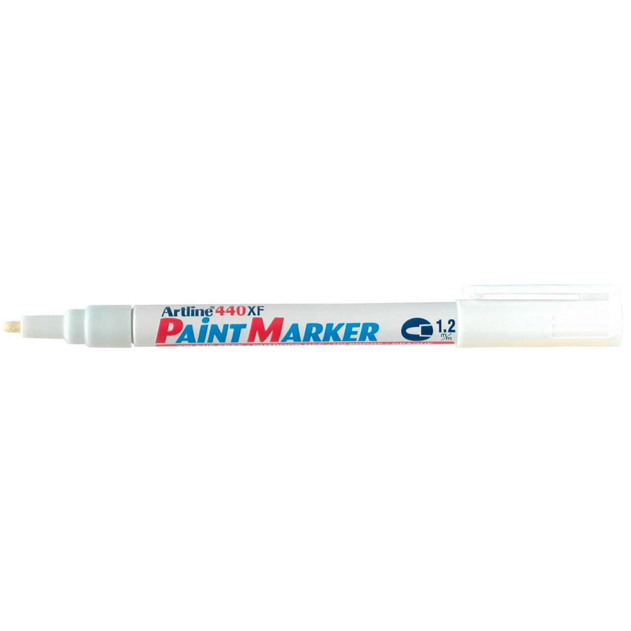 Artline 440 Paint Marker White 1.2Mm Bullet Nib