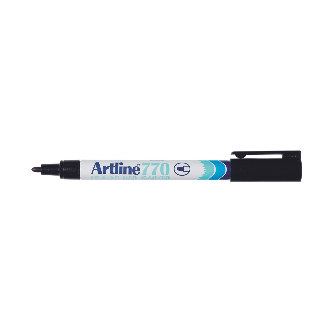 Artline 770 Freezer Bag Marker Black 1.0Mm Bullet Nib (Bx12)