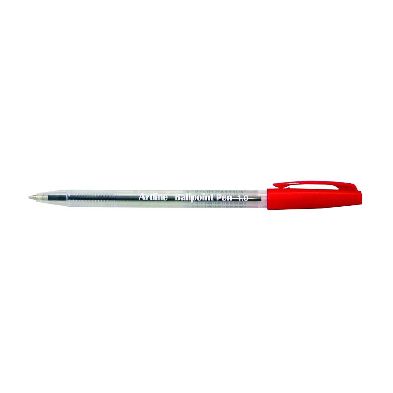 Artline 8210 Bpp Medium Red (Bx12)