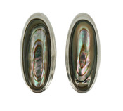 Abalone Post Earrings
