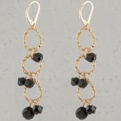 Black Eclectic Earrings