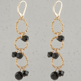Black Eclectic Earrings