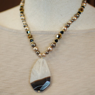 Canyon Necklace in 18K Gold Vermeil