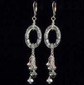 Cosmic Crystal CAL Cluster Earrings
