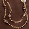 Sandy Beach Eclectic Long Necklace