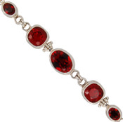 Swarovski Red Crystal Bracelet