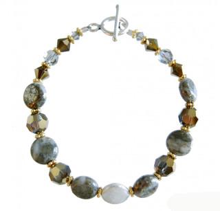 Two-tone Pyrite Bracelet