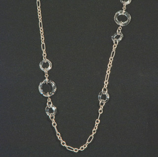 Cosmic Ring Long Necklace