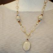 Jasper Chain Necklace