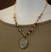 Jasper Drop Necklace