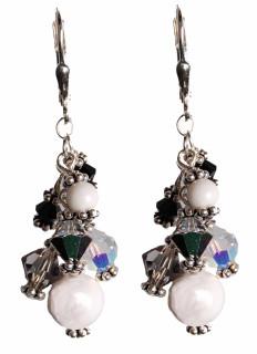Smoke Cluster Earrings