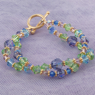 Serenity Double Bracelet in Gold