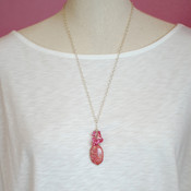 Raspberry Sorbet Necklace