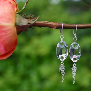 Roxie Earrings in Crystal (Clear)