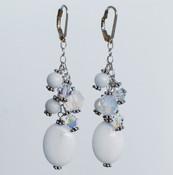 Santorini Cluster Earrings
