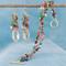 Navette Double Bracelet in Goddess shown with the Navette Cluster Earrings in Goddess