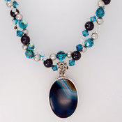 Blue Crush Double Necklace