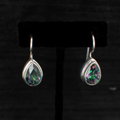 Mystic Topaz Small Teardrop Earrings