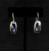 Mystic Topaz Baguette Earrings