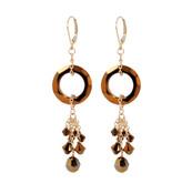 Cosmic Crystal Dorado Earrings