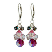 Love Struck Crystal Cluster Earrings