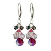 Love Struck Crystal Cluster Earrings