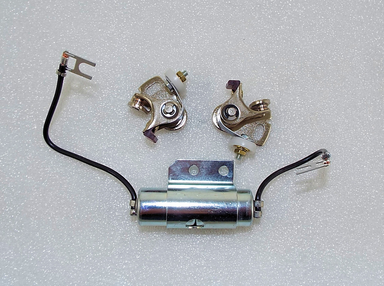 Yamaha Rd400 Ignition Kit  Points And Condensers 1a0