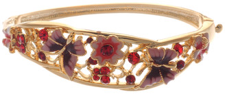 Neoglory Bloom Crystal Butterfly Party Wear Bangle