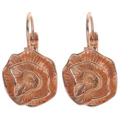 Spiral Flower Earrings