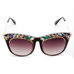 Colourful Crystal Sunglasses