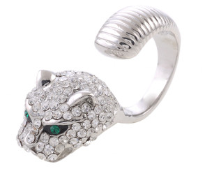 Quirky Wild Cat Ring