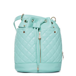 Pastel Coloured Bucket Backpack