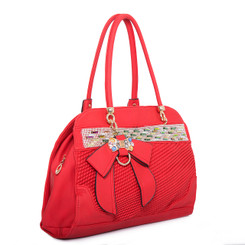 Bow Detail Handbag