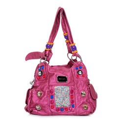 Multicoloured Pocket Hand Bag