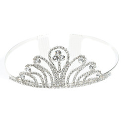 Cross Hatch Tiara