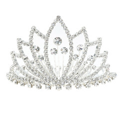 Open Leaf Tiara
