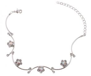 Crystal Daisy Bracelet