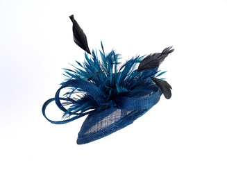 Spiral Feather Fascinator