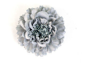 Peony flower fascinator
