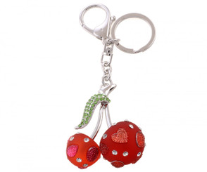 Red Cherry Bag Charm