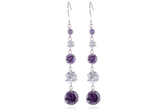 Neoglory Swarovski Elements Forever Pretty Dangle Earrings