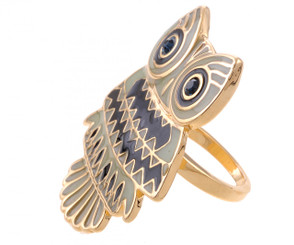Trendy Owl Ring