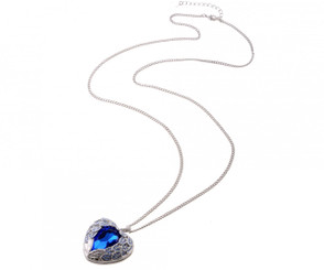 Winged Heart of the Ocean Pendant