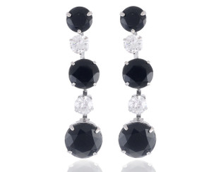 Neoglory Starlight Cubic Zirconia Earrings