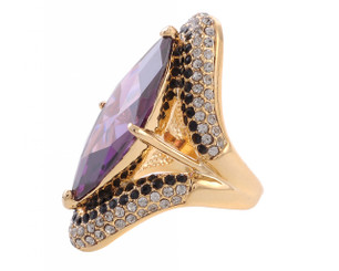 Swarovski Elements Lavish Crystal Ring