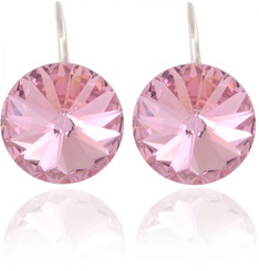 Swarovski Elements Princess Sparkle Prom Earrings