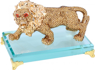 Crystal Lion Ornament